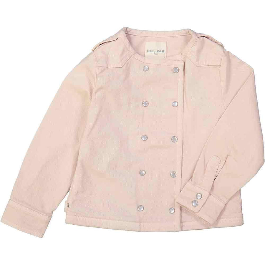 Louis Louise Luco Denim Jacket Pink - Tiny People Cool Kids Clothes Byron Bay