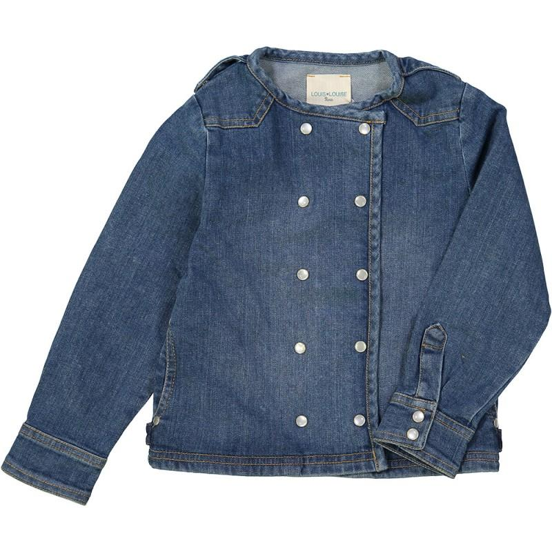 Louis Louise Luco Denim Jacket Blue - Tiny People Cool Kids Clothes Byron Bay