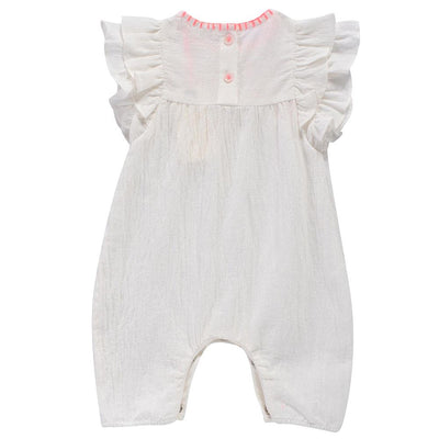 Louise Misha Ajita Jumpsuit White - Tiny People Cool Kids Clothes Byron Bay
