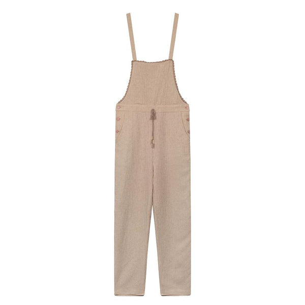 Louise Misha Women's Brigitte Overalls Rose - Tiny People Cool Kids Clothes Byron Bay