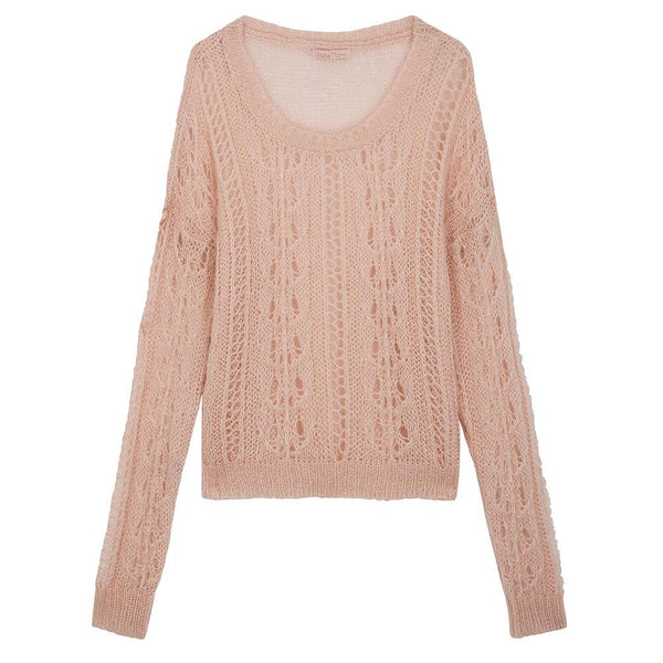 Louise Misha Women's Whoolhara Pullover Blush - Tiny People Cool Kids Clothes Byron Bay
