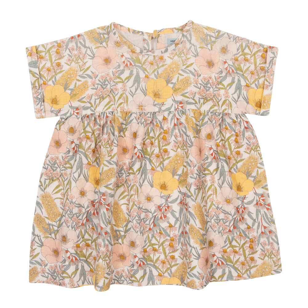 Goldie & Ace Lulu Dress Vintage Floral | Tiny People