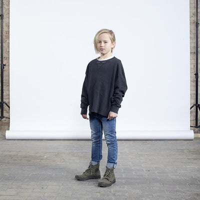 I Dig Denim Ly Oversized Sweater at Tiny People Shop Australia.