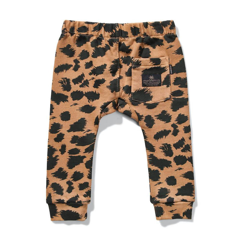 Mini Munster Def Leopard Trackpant | Tiny People