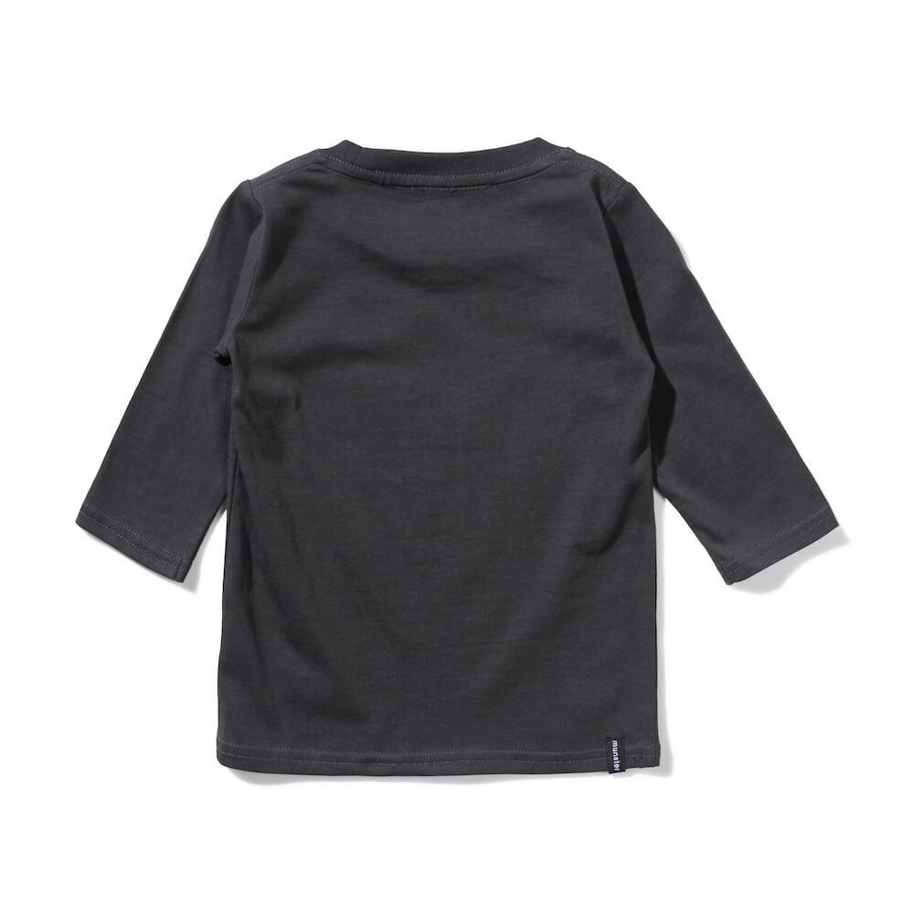 Mini Munster Pace Long Sleeve Tee Soft Black | Tiny People