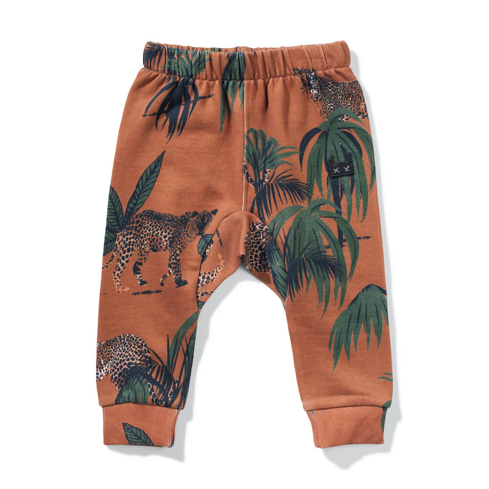 Cat King Pant Palm Leopard