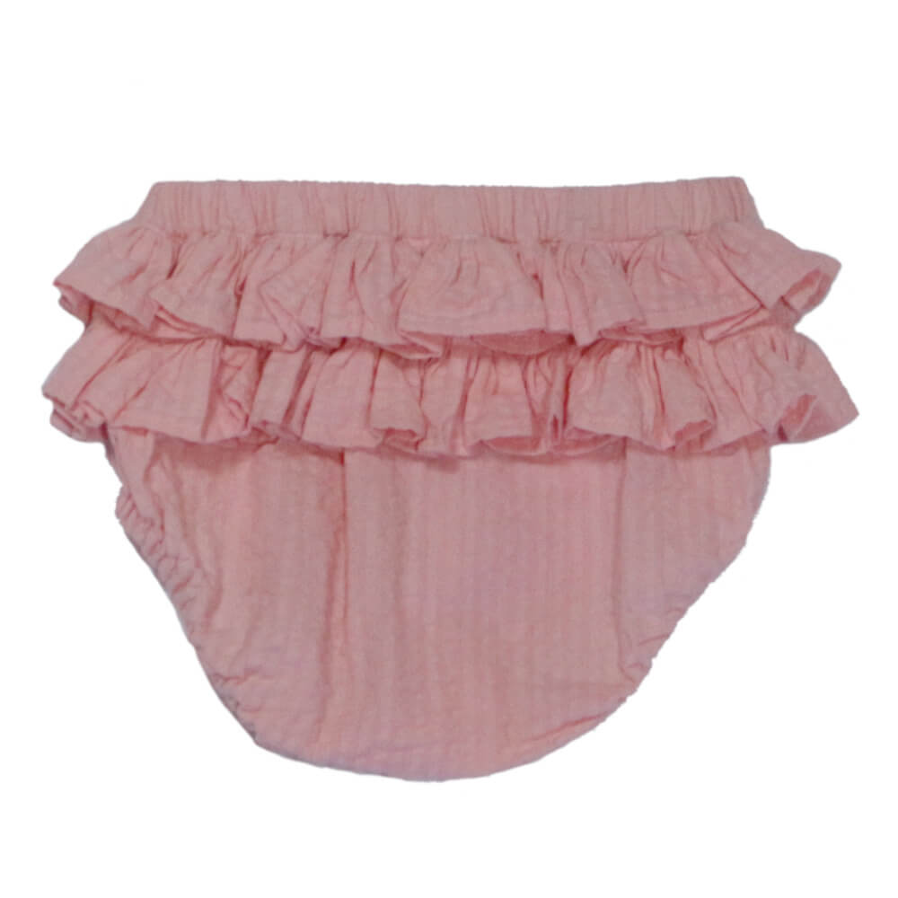 Ruffle Bloomers Rosy Pink