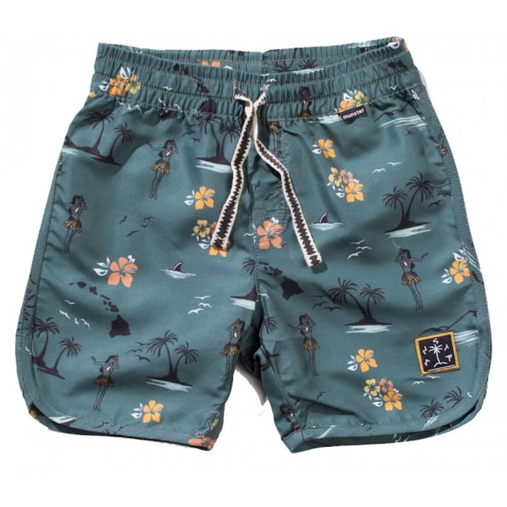 Munster Hulashake Board Shorts | Tiny People