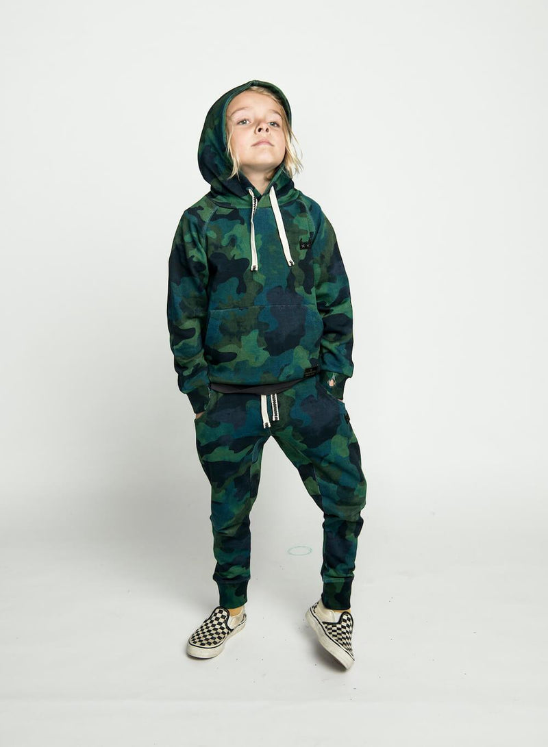 Munster Ocean Camo Trackpant | Tiny People