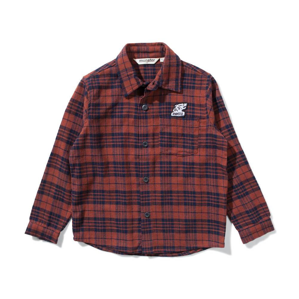 Munster Niseiko Shirt Rust | Tiny People