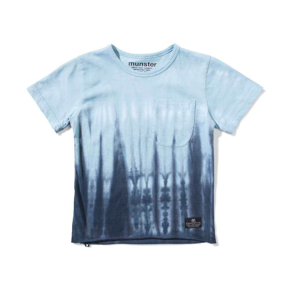 Munster Flood Tee Blue | Tiny People