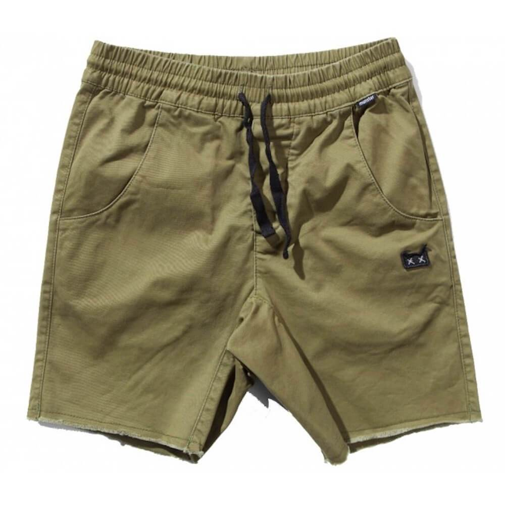 Munster Keramas 3 Olive Shorts | Tiny People