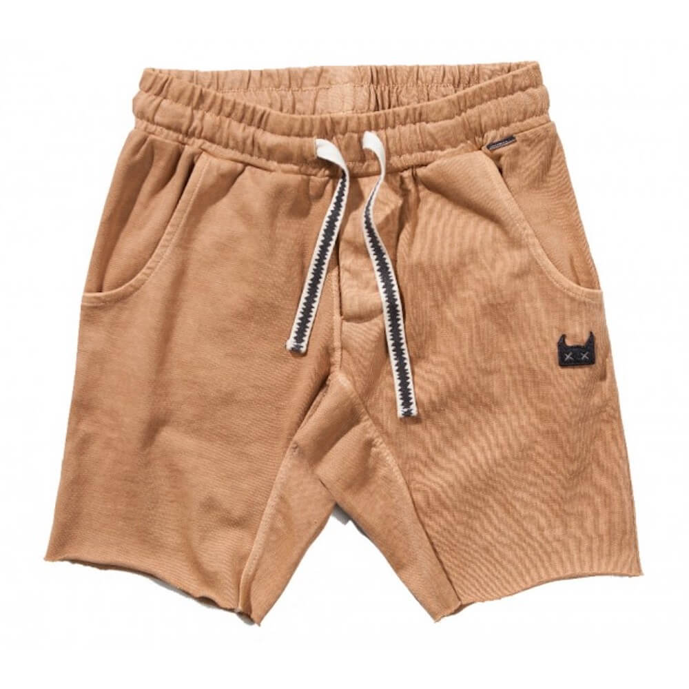 Zap Me Shorts Washed Mustard