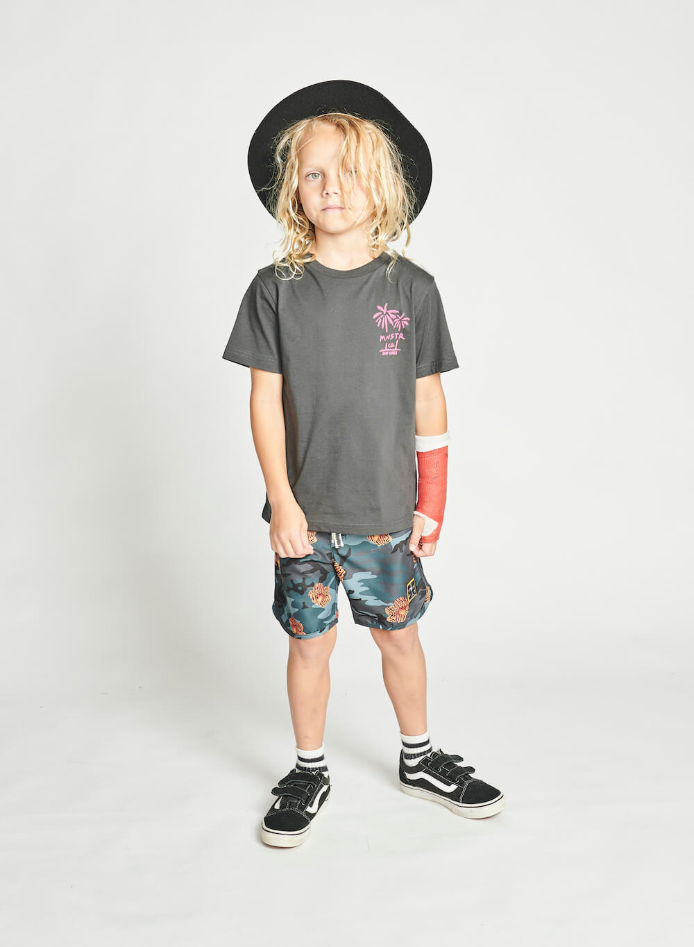 Munster Floralamo Boardshort | Tiny People Shop