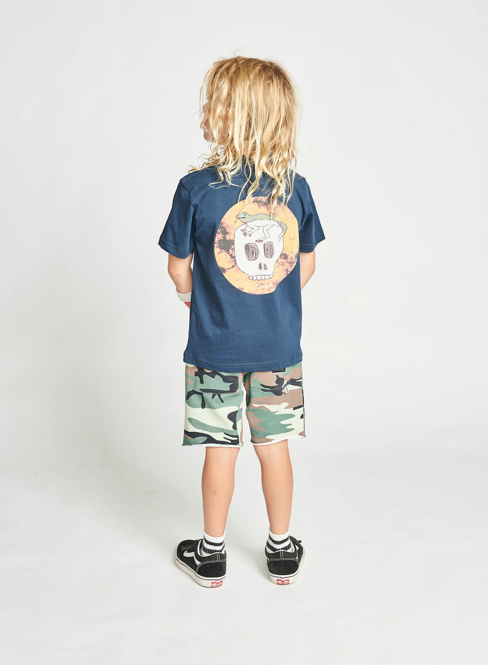 Munster Cocoskull Tee Midnight | Tiny People