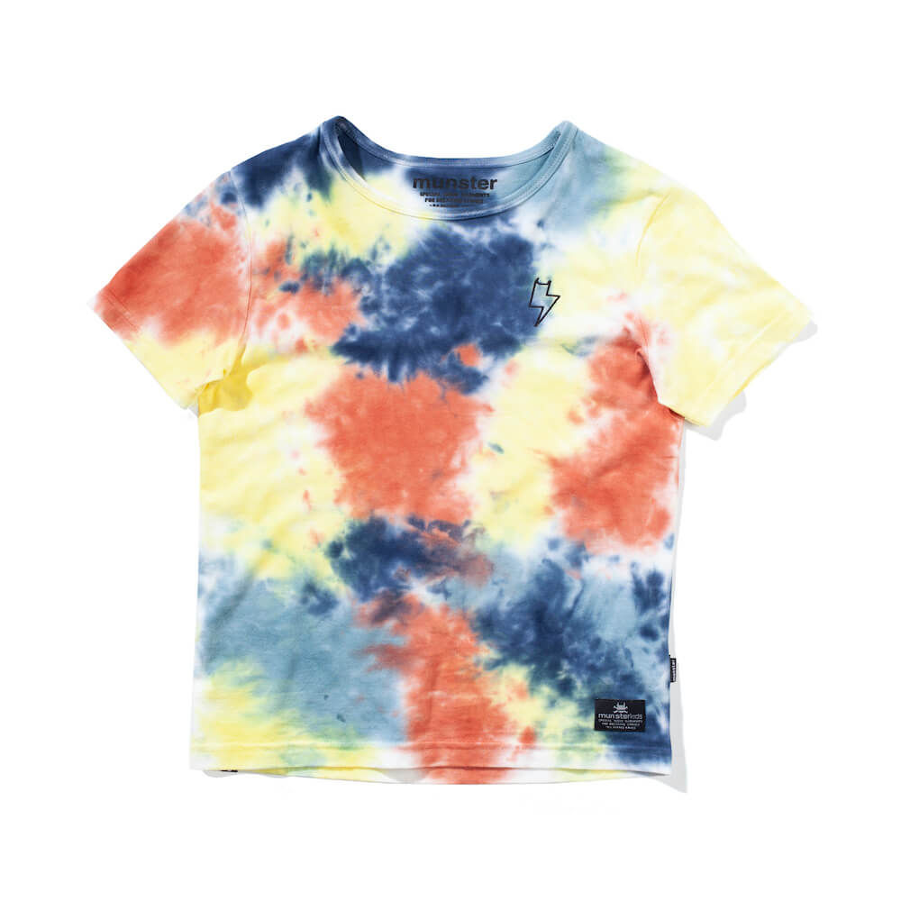 Munster Cloudyskies Tee Cloud Tie Dye | Tiny People