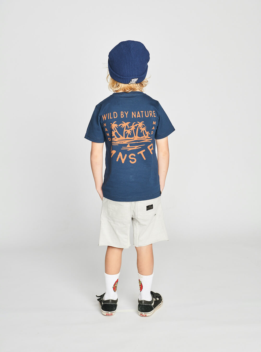 Munster By Nature Tee Midnight | Tiny People