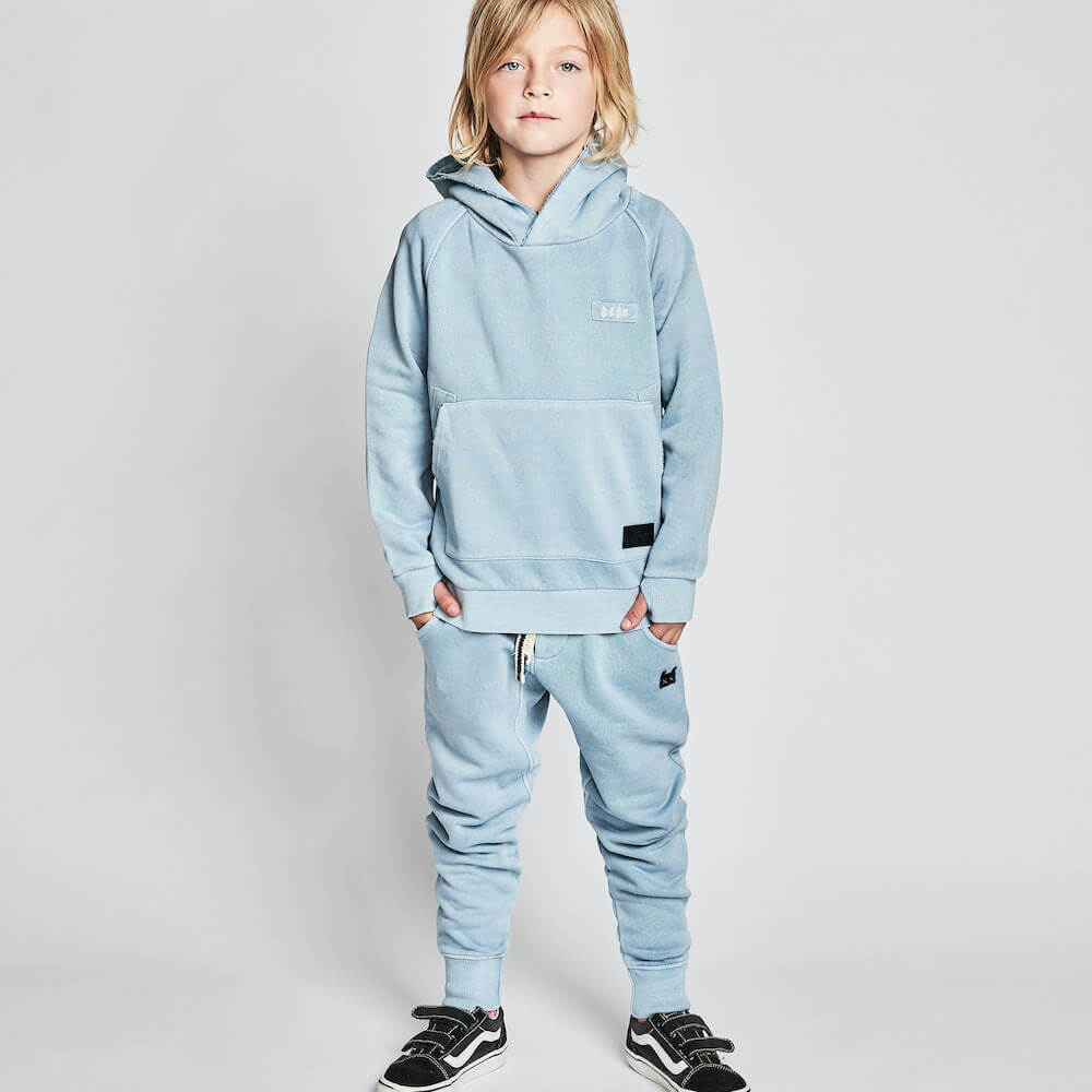 vMunster DayNight 2 Pant Pigment Mid Blue | Tiny People Australia Online