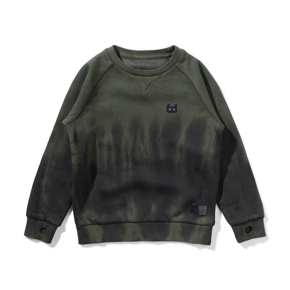 Munster Kids Plunger Crew Olive Dye | Tiny People AustraliaMunster Kids Plunger Crew Olive Dye | Tiny People Australia