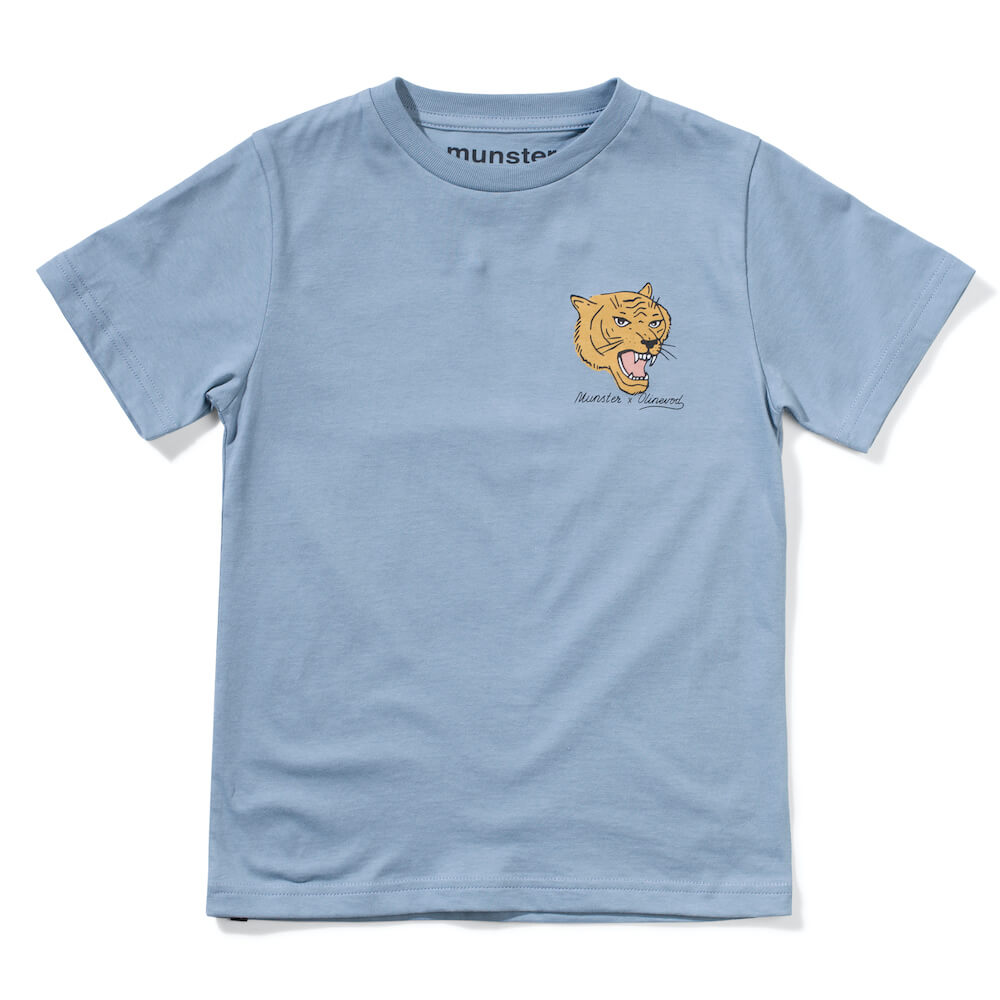Munster Tracker SS Tee Dusty Blue | Tiny People Online Australia