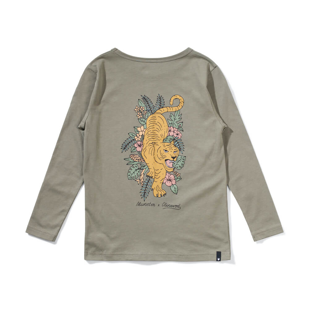 Munster Out Of The Woods LS Tess Olive | Tiny People Online Australia