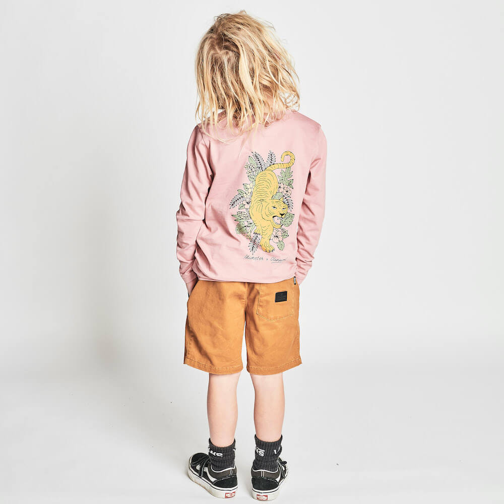Munster Out Of The Woods LS Tess Dusty Pink | Tiny People Online Australia
