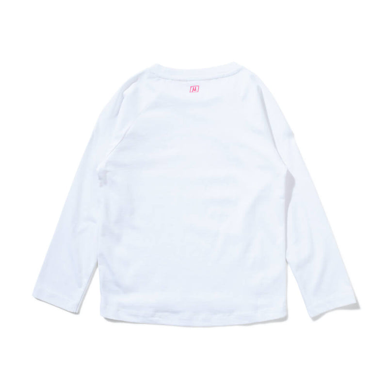 Missie Munster Poet LS Tee White | Tiny People