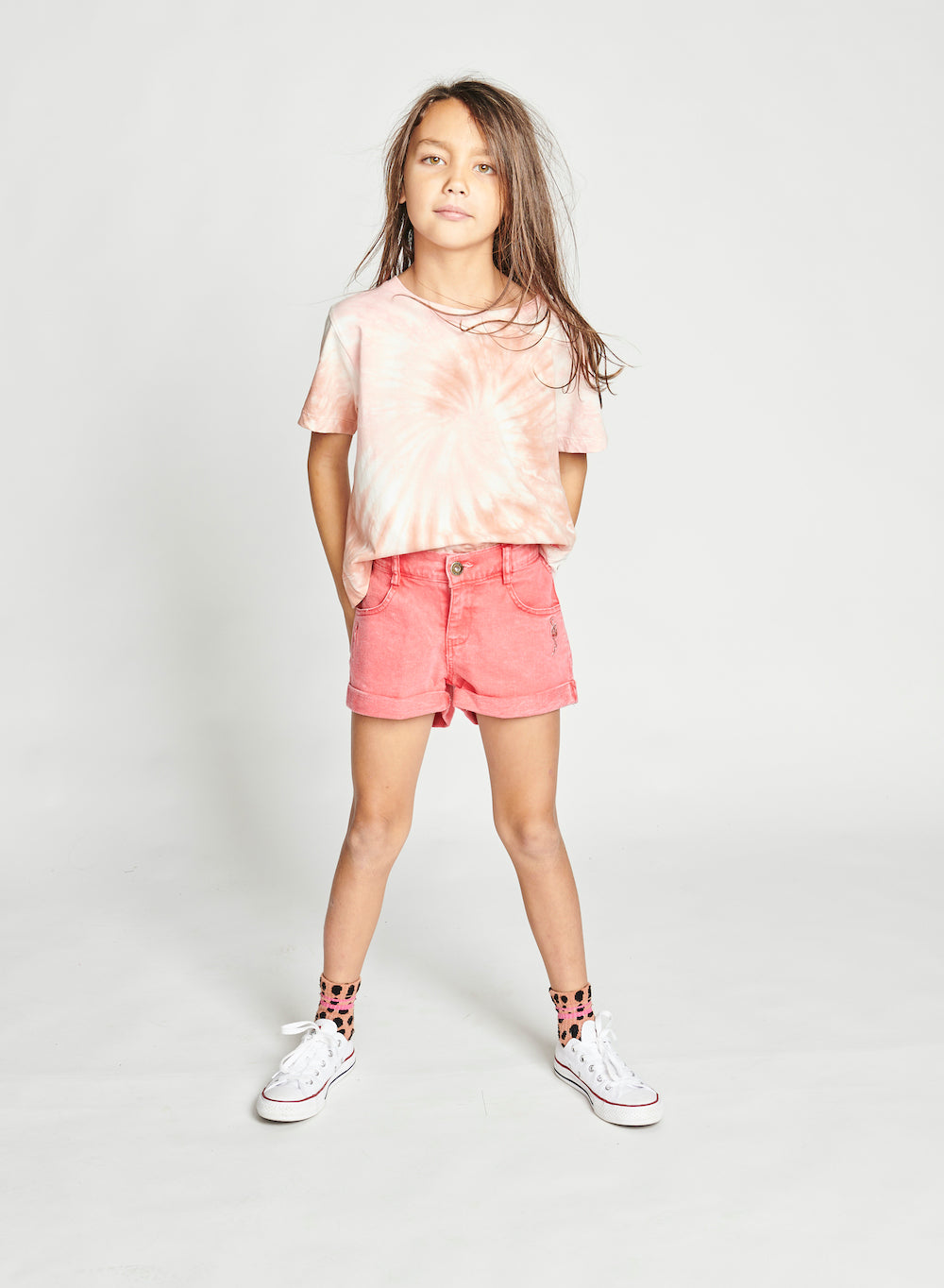 Munster Pink Alba Short | Tiny People
