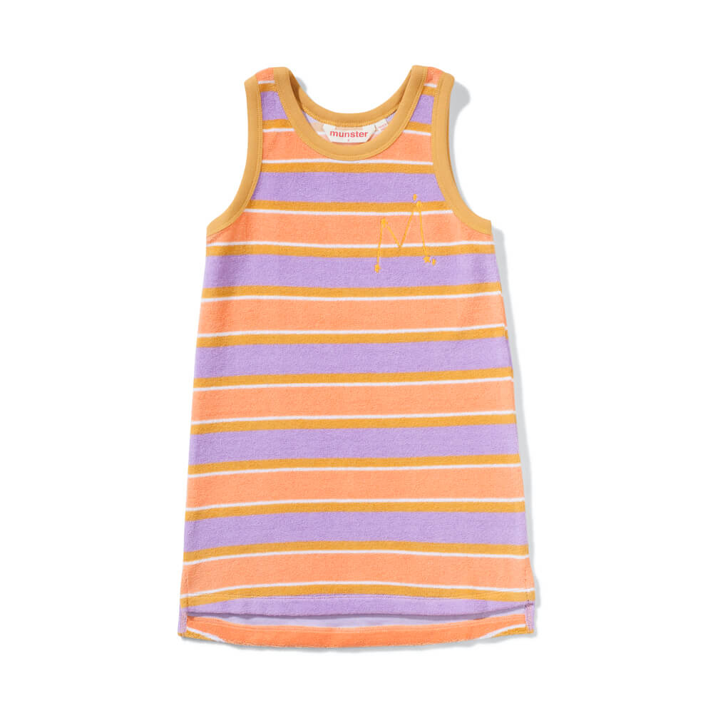 Missie Munster The Market Dress Terry Stripe | Tiny People