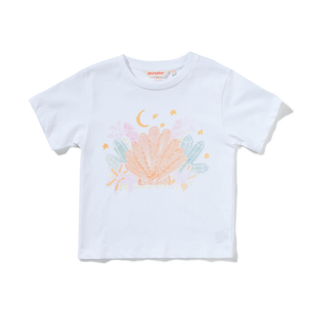 Munster Lunashell Tee White | Tiny People