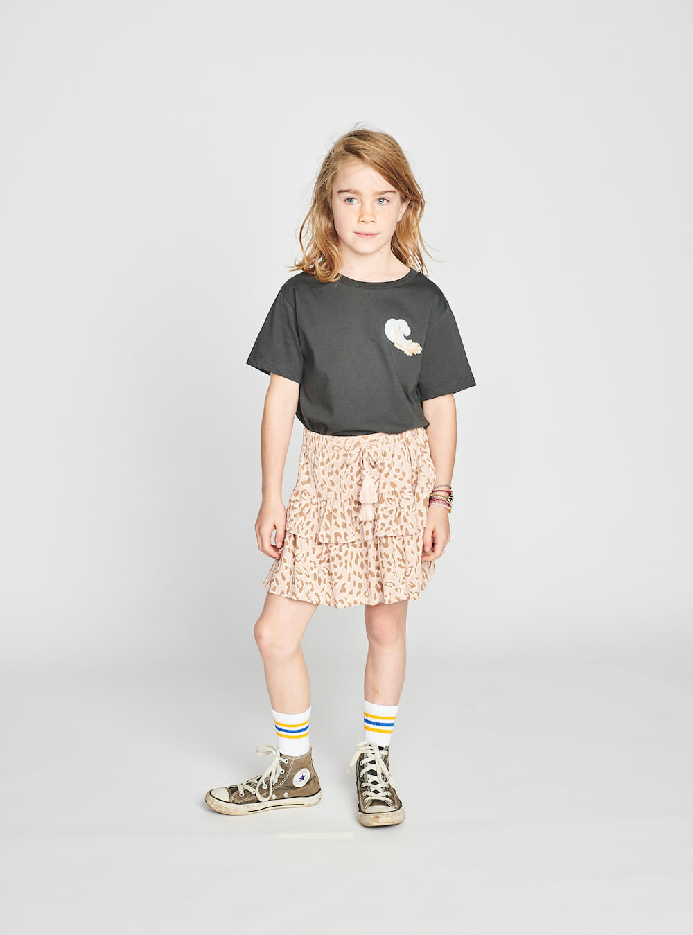 Munster Dusty Skirt Leopard Print | Tiny People