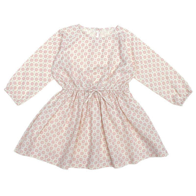 June Kids Mapple Dress Pink Floral - Tiny People Cool Kids Clothes Byron Bay