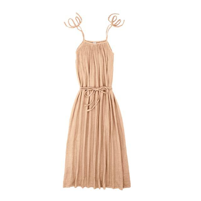 Mia Dress Long Women's Pale Peach