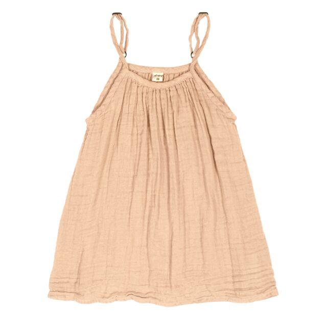 Numero 74 Mia Dress Pale Peach - Tiny People Cool Kids Clothes Byron Bay
