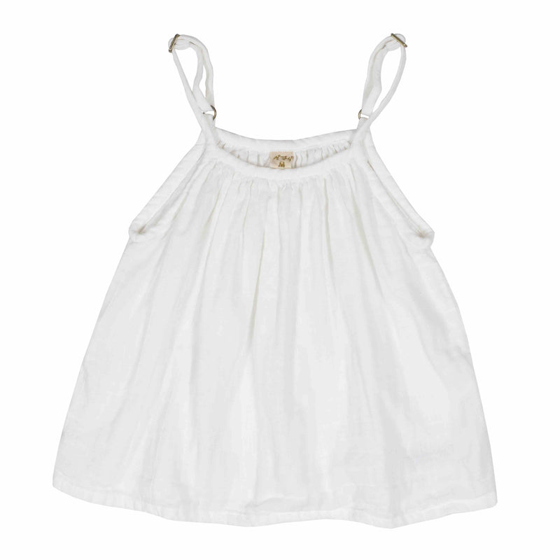 Numero 74 Mia Top White Tops & Tees - Tiny People Cool Kids Clothes