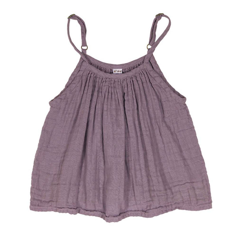 Numero 74 Mia Top Dusty Lilac Tops & Tees - Tiny People Cool Kids Clothes