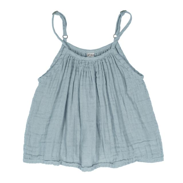 Numero 74 Mia Top in Sweet Blue at Tiny People Shop.
