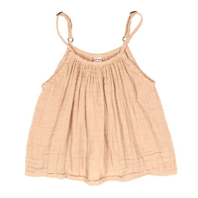 Numero 74 Mia Top Pale Peach - Tiny People Cool Kids Clothes Byron Bay