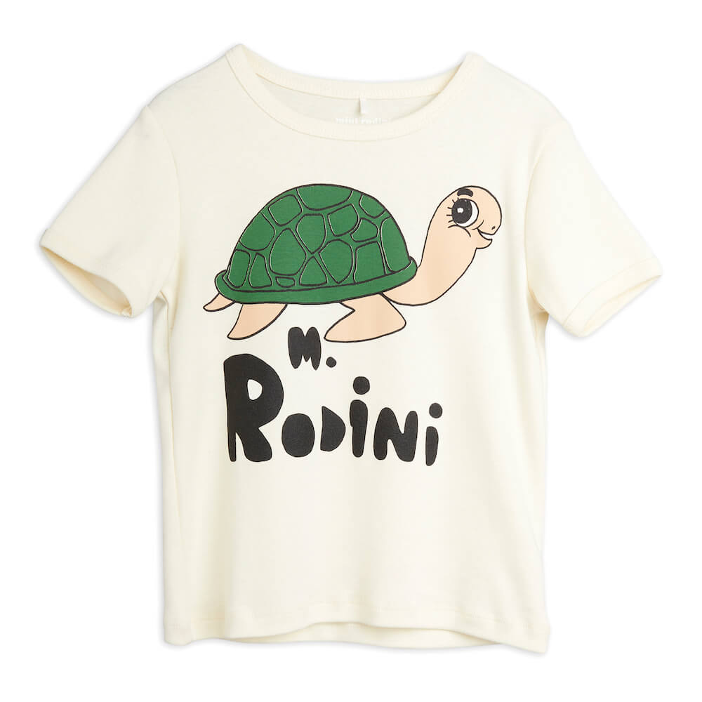 Mini Rodini Turtle S/S Tee | Tiny People