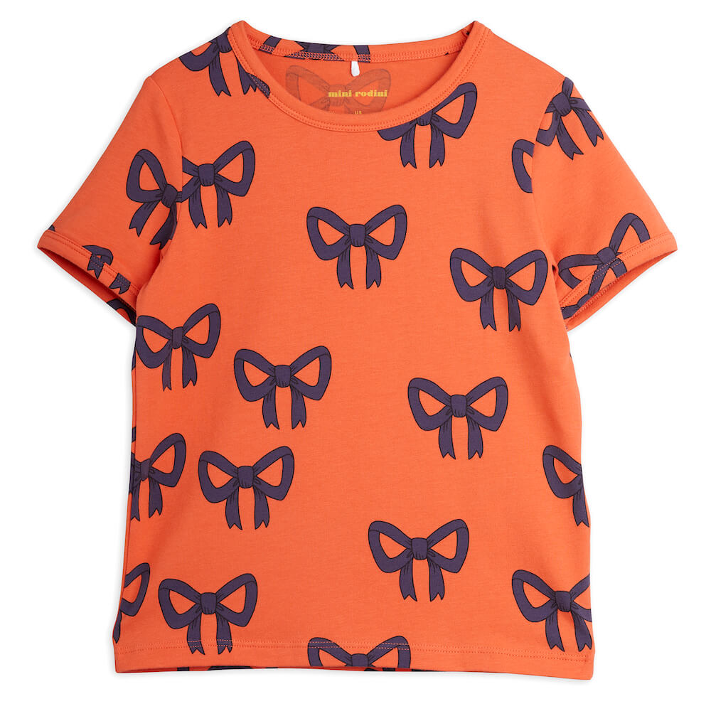 Mini Rodini Bow S/S Tee | Tiny People