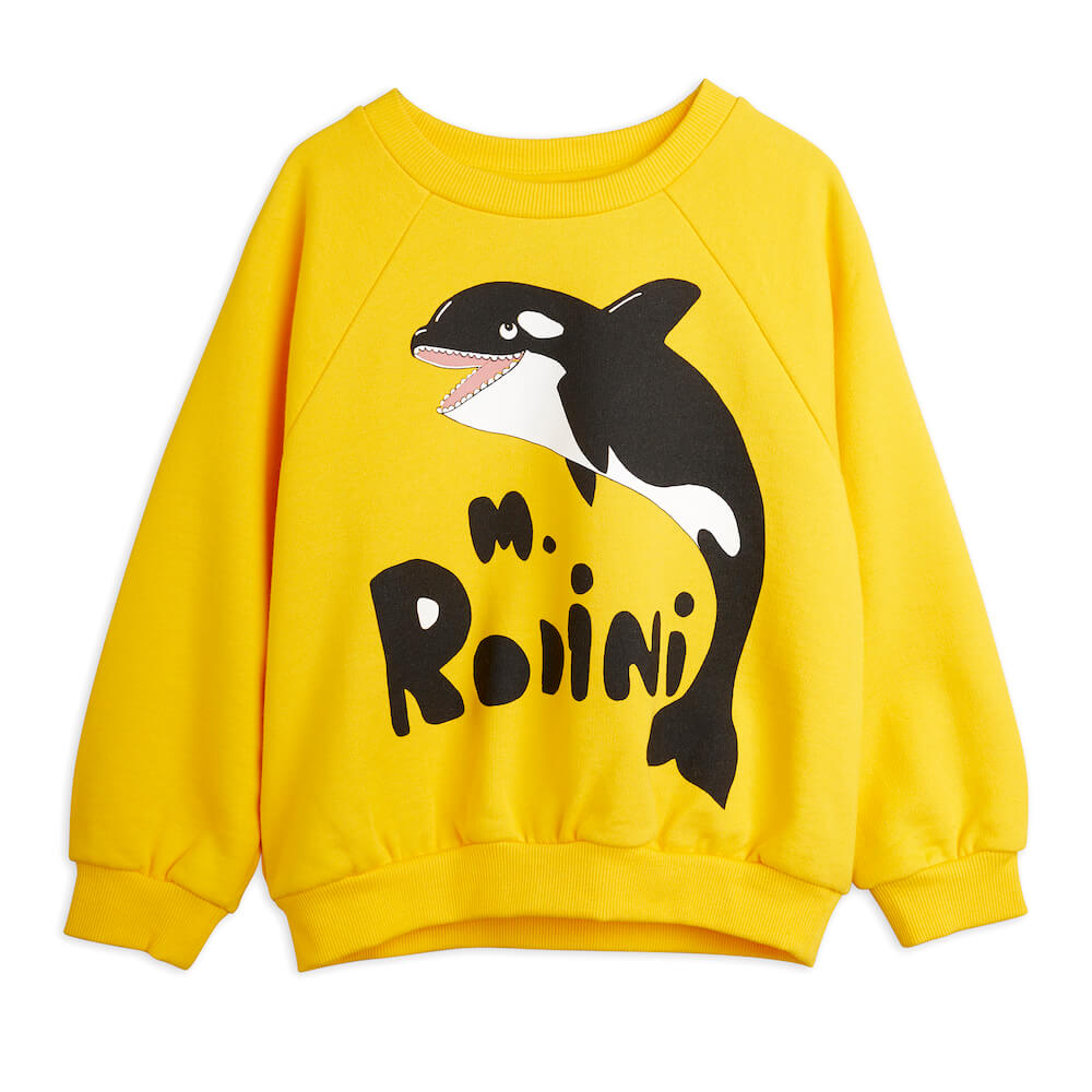 Mini Rodini Orca sp Sweatshirt | Tiny People