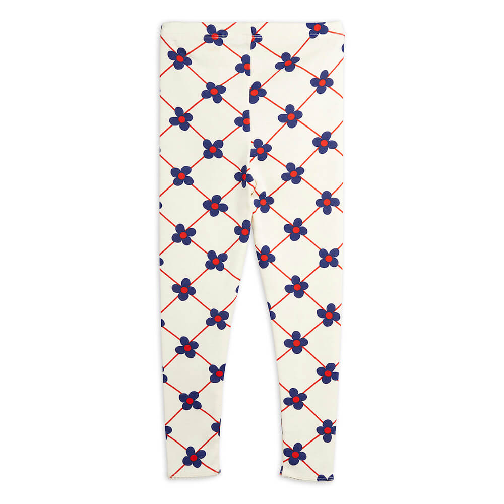 Mini Rodini Flower Check Leggings | Tiny People