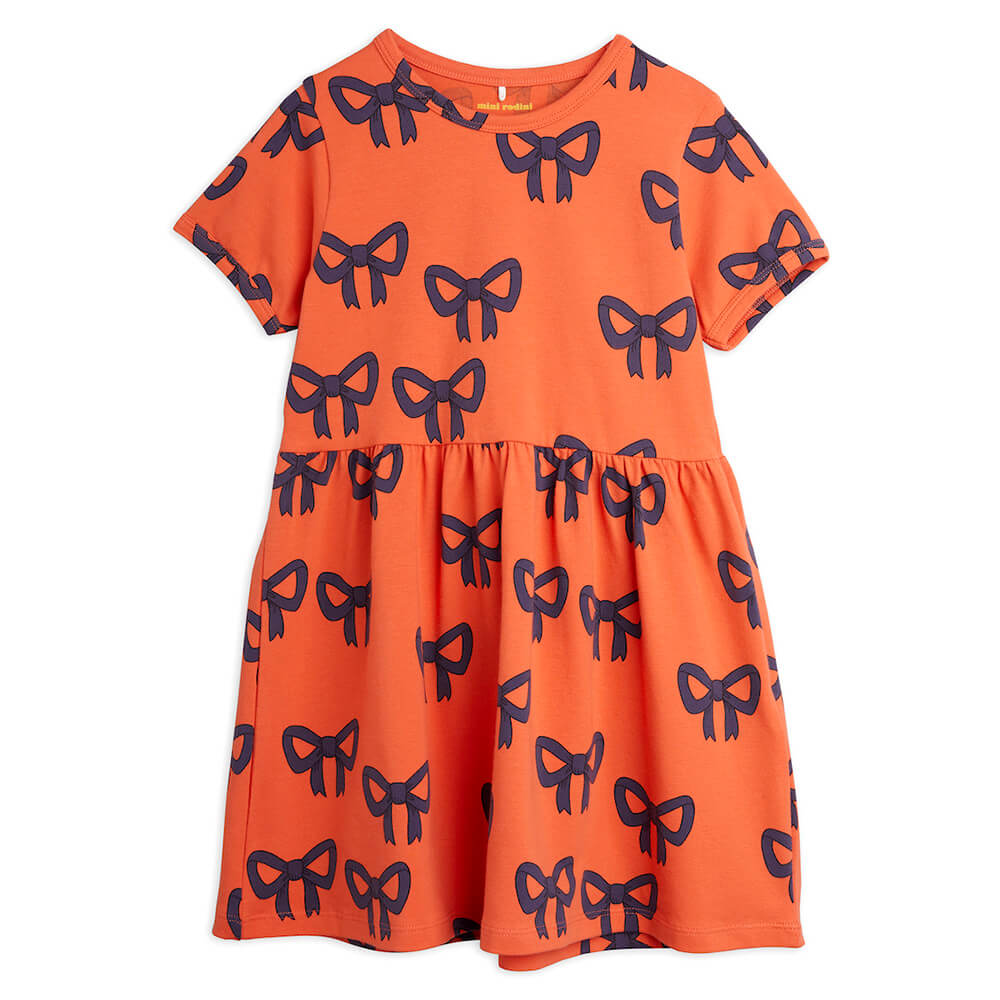 Mini Rodini Bow S/S Dress | Tiny People