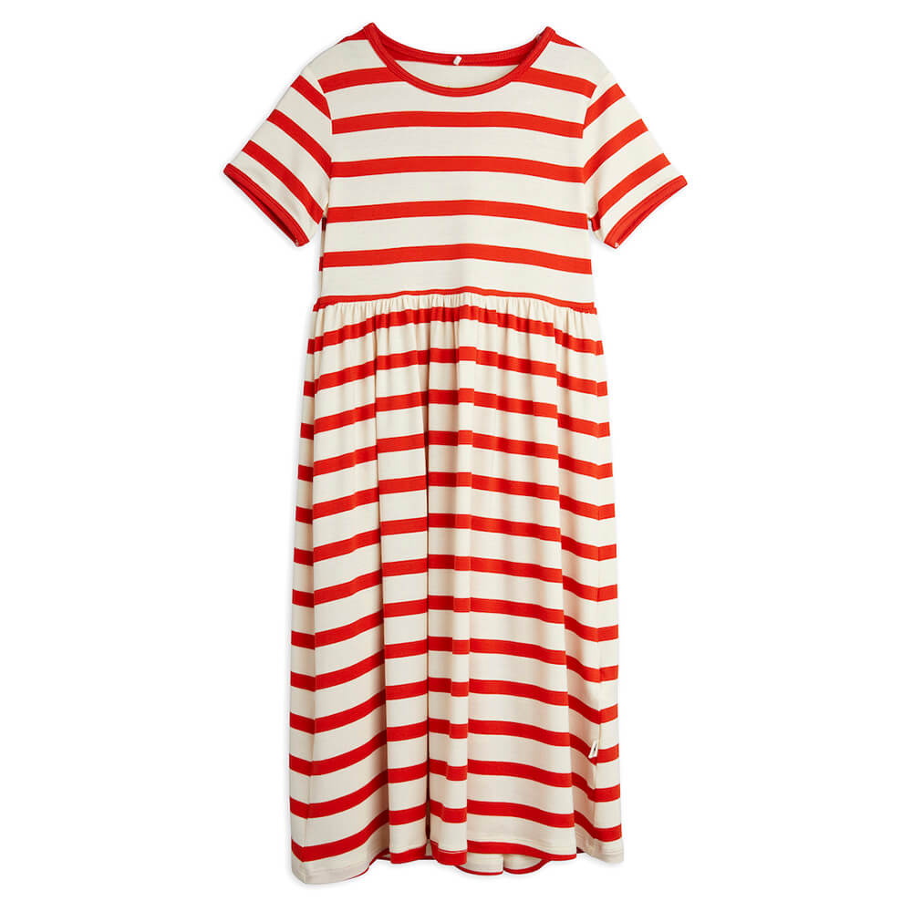 Mini Rodini Stripe S/S Dress | Tiny People
