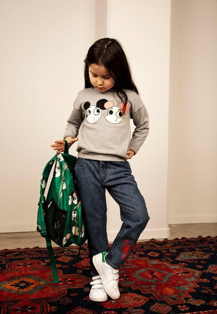 Mini Rodini Ritzratz Sweatshirt | Tiny People