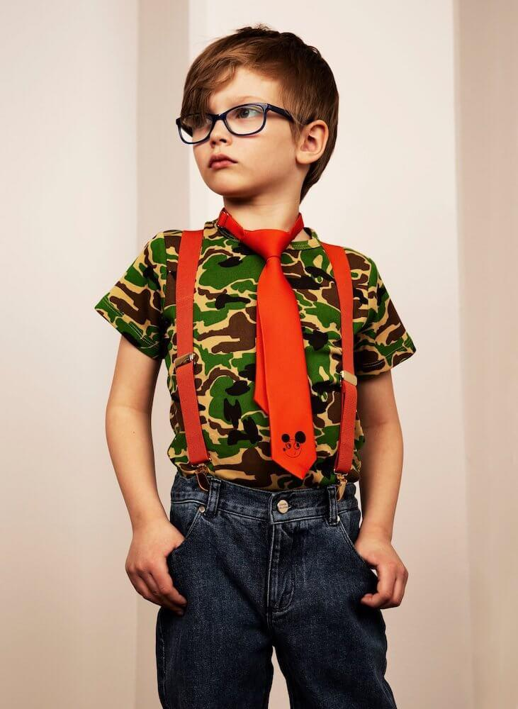 Mini Rodini Camo SS Tee | Tiny People
