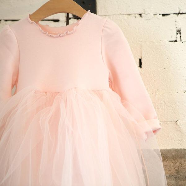 Mini Dressing Shushu Dress - Pink - Tiny People Cool Kids Clothes Byron Bay