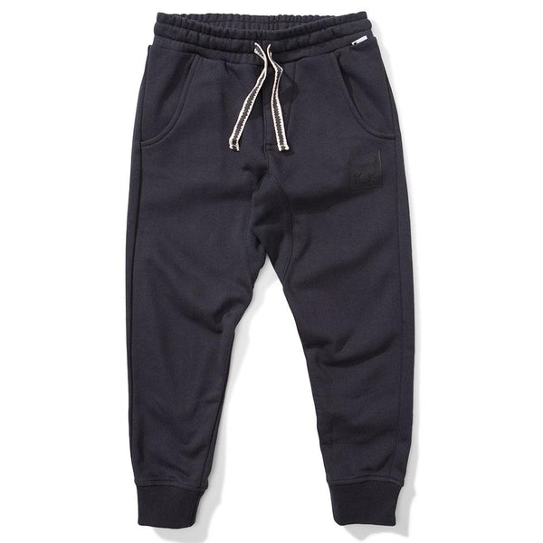 Munster Kids Weekend Track Pant Black - Tiny People Cool Kids Clothes Byron Bay