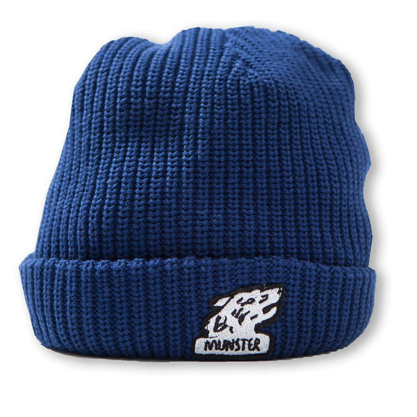 Munster Kids Grrrr Beanie Navy - Tiny People Cool Kids Clothes Byron Bay