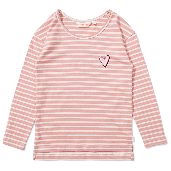 Missie Munster Heart Full Tee - Tiny People Cool Kids Clothes Byron Bay
